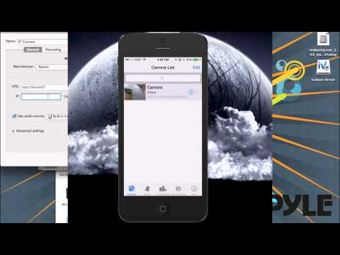 PYLE IP CAMERAS - ivideon Setup - 2 CAMS FREE - CLOUD DVR