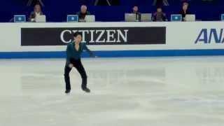 2015フィギュアスケート世界選手権大会 小塚崇彦選手FS @上海 タカちゃ...