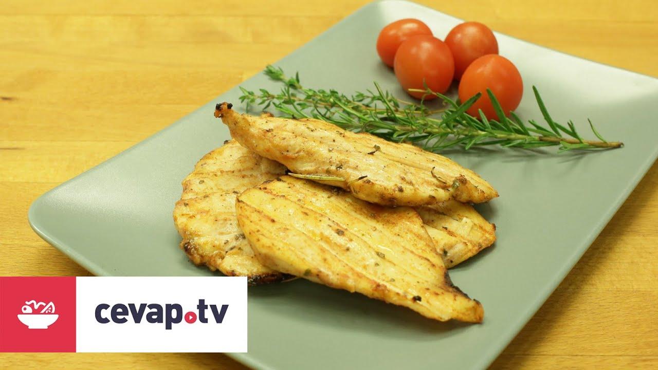 Izgara Tavuklu Salata -Seyir Dönemi Tarifleri