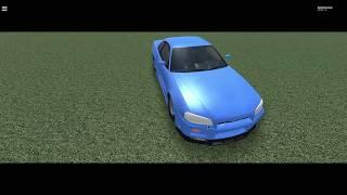 Roblox car cinematics No.1 (Nissan skyline GTR R34