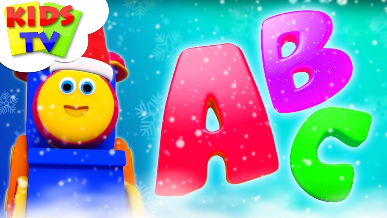 ABC Song | Bob The Train | Christmas Cartoons | Learning Videos For Children by Kids Tv