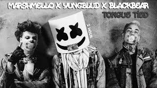 Marshmello x YUNGBLUD x blackbear - Tongue Tied [1 Hour] Loop