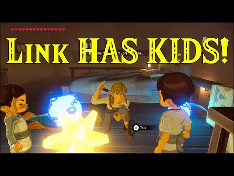 Link HAS KIDS! Finds Out He's a FATHER in Zelda Breath of the Wild