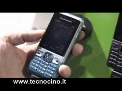 Video Sony Ericsson C702 - test e prova al MWC 2008