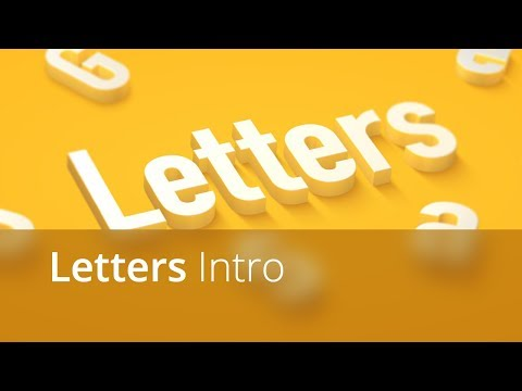 Letters Intro Video