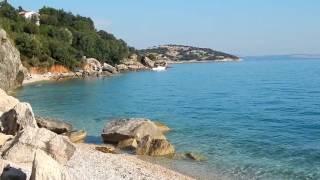 Camp Skrila - Stara Baska, pobliska plaża II- Krk, Chorwacja