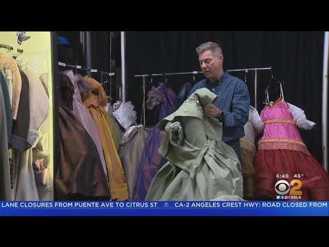 'Frozen' Wardrobe Takes Technology, Math To Hit The Stage Every Night