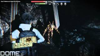 Dome: Alone in the Dark Illumination - gameplay 10 - female engineer gameplay in town and mines