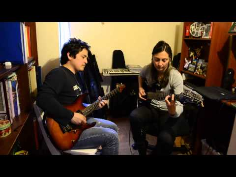 Highly Strung-Orianthi and Vai (cover by Angélica Gama n' Jason Robayo)