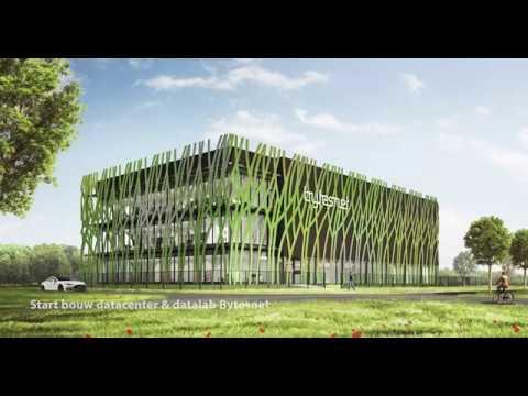Bouwvorderingen datalab Bytesnet op Campus Groningen
