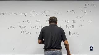 33 - אקסיומות המנייה: דוגמאות; אקסיומות ההפרדה – מרחבים רגולרים ונורמלים
