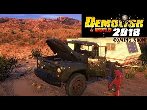 Demolish & Build 2018  :: Scrapping Junk Cars! Buying The Excavator! (Part 2)