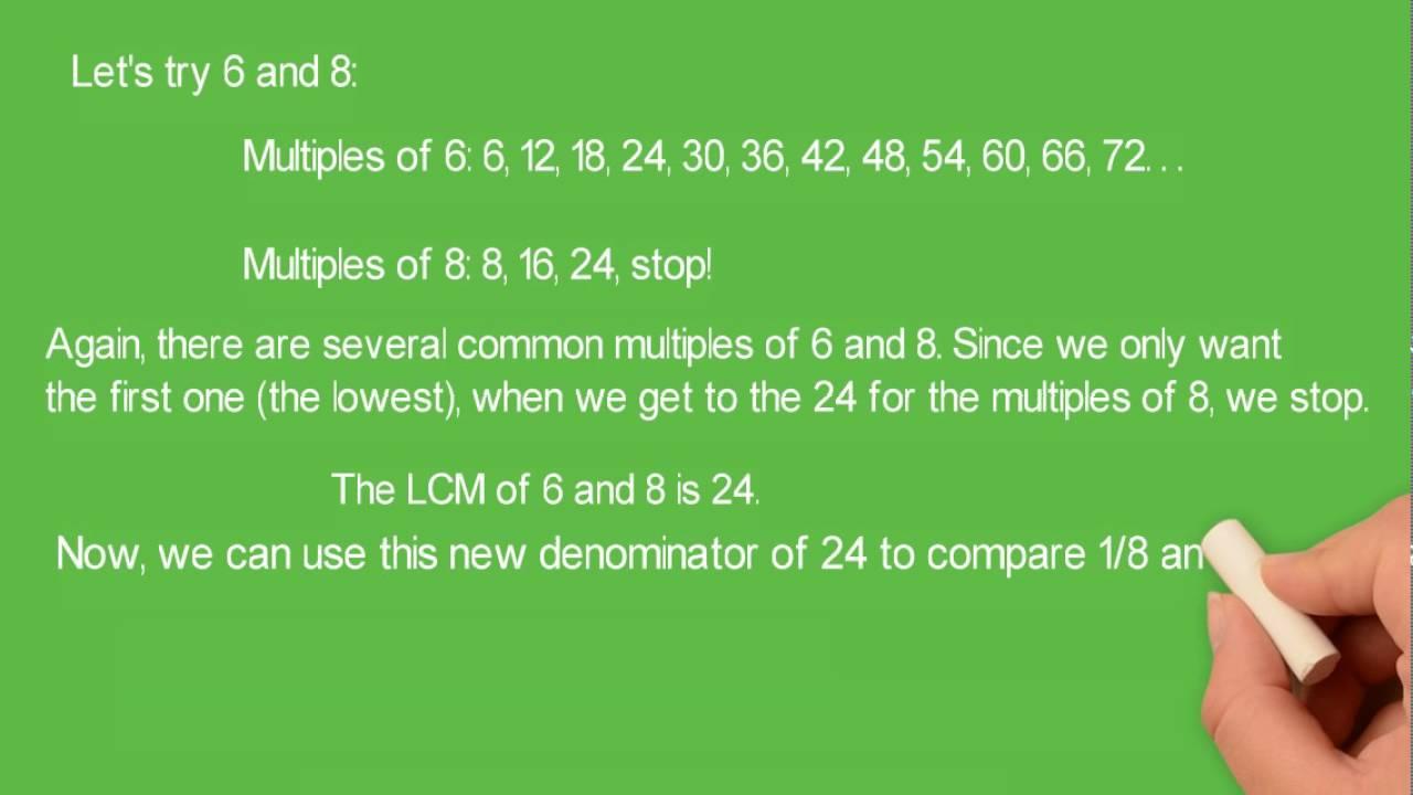 Fractions Book 7: Leastmon Multiple  Lcm