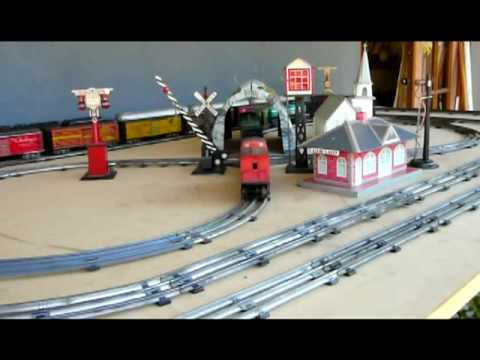 A New Toy Train Layout Youtube