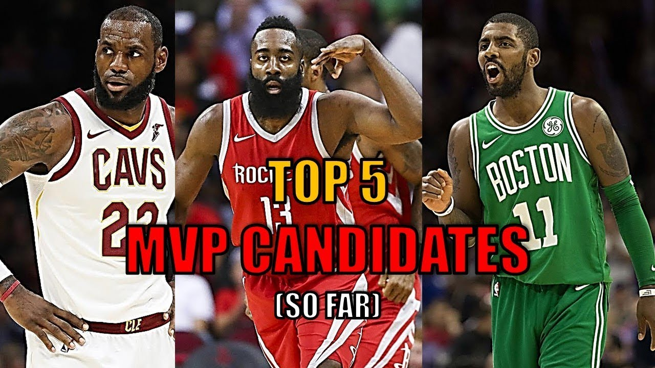 a8809a7ebe6 Top 5 NBA MVP Candidates So Far! (2018) - YouTube