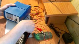 зарядка аккумулятора  шуруповерта ЗПУ катунь 501