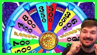 """I'd Like To Buy An """"L"""" - Dumb Broad on Wheel of Fortune Slot Machine W/ SDGuy1234"""