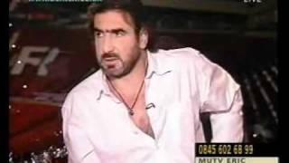 Eric Cantona gives it to Alan Hansen - Bentex Tv