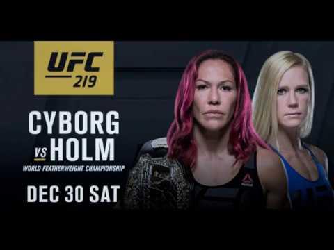 Watch Cris Cyborg vs Holly Holm Fight Promo