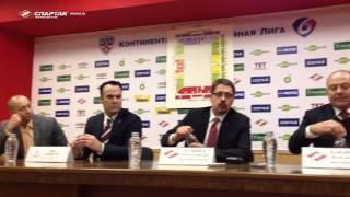 Пресс-конференция после матча Спартак - ЦСКА (3:2)
