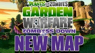 "Zomboss Down! ""SUPER RARE LAW PEA + CACTUS CANYON"" - PvZ Garden Warfare Live Gameplay"