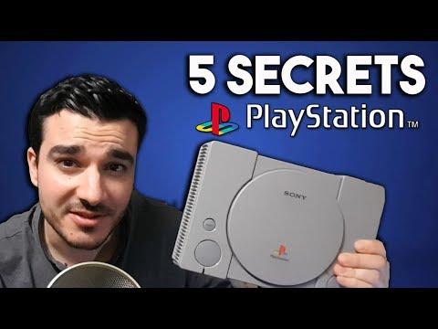 5 SECRETS CACHÉS SUR LA PS1!