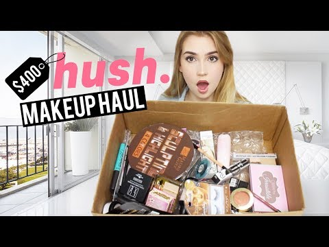 I SPENT $400 ON HUSH   This Is What I Got! ShopHush Makeup