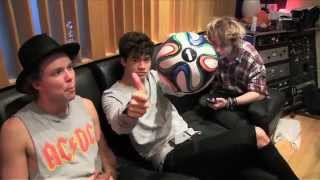 5 Seconds Of Summer featuring Scott Mills -- Hearts Upon Our Sleeve