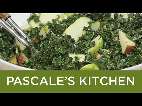 Roasted Kale and Apple Salad
