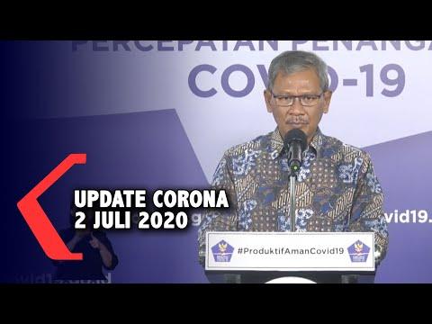 Update Corona 2 Juli 2020: 59.394 Positif, 2.987 Meninggal, 26.667 Sembuh