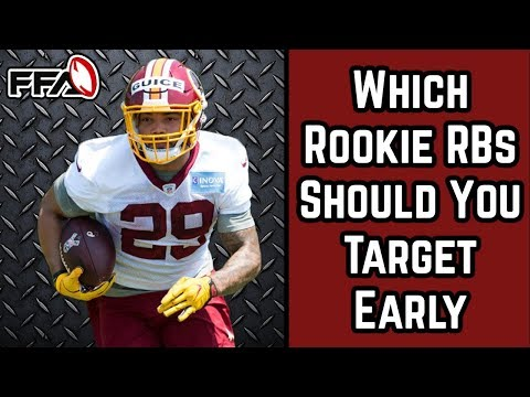 Which Early Round Rookie RB's to Target - 2018 Fantasy Football - 동영상