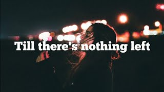 Cam - Till there's nothing left ( lyric video )