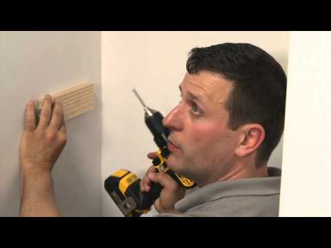 How to Cut Wood Closet Shelves