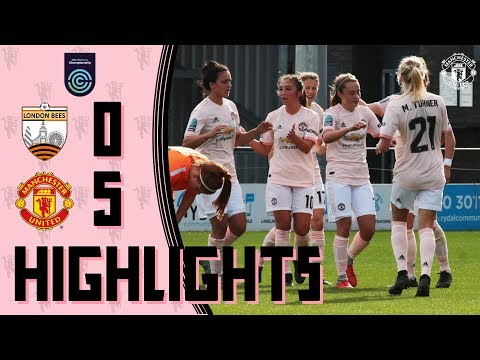 Highlights | London Bees 0-5 Manchester United Women | FA Women's Championship thumbnail
