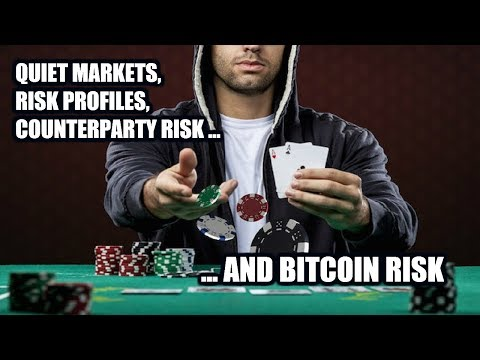 Quiet Markets, Risk Profiles, Counterparty Risk ... and Bitcoin Risk