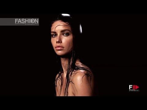 ADRIANA LIMA represents January for PIRELLI CALENDAR 2015 by Fashion Channel