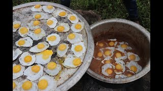 HALF BOIL GRAVY / Using 250 DUCK EGGS / DADDY Arumugam / Village food factory