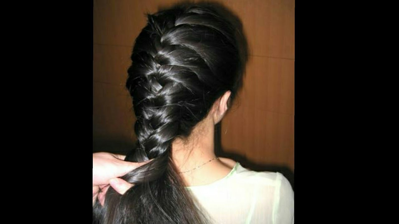 Hair Style Youtube In Hindi: Hindi How To Make Sagar Choti Step By
