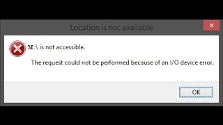 M:\ is not accessible-The request could not be performed because of an I/O device error [Hindi]