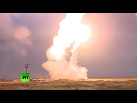 С-300 и С-400 в действии: видео учений в Астраханской области