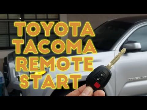 TOYOTA REMOTE START DIY INSTALL