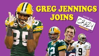 Hey, Greg Jennings! Who's The Better QB? | MAYBE I'M CRAZY