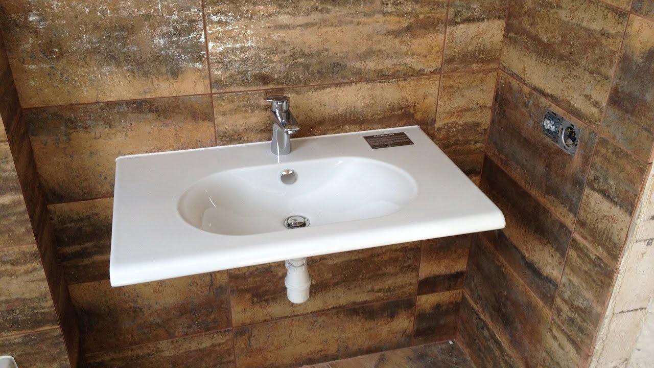 Bathroom sink installation YouTube