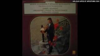 Gambar cover Daniel Bourgue plays 1st part C. M. von Weber Concertino in E minor, Op. 45. Lp record.