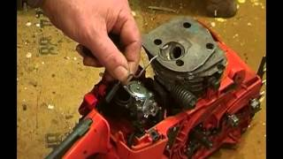 Husqvarna 350 rebuild part 3. Fittng the cylinder and carb, ramblings on piston ring measurements