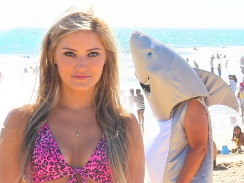 "Bruno Mars ""The Lazy Song"" Shark Week Parody! 