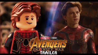 Avengers Infinity War Trailer 2 in LEGO Side by Side Comparison