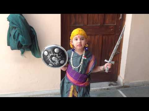 JHANSI KI RANI -Rihana (13 August, 14) outside clip