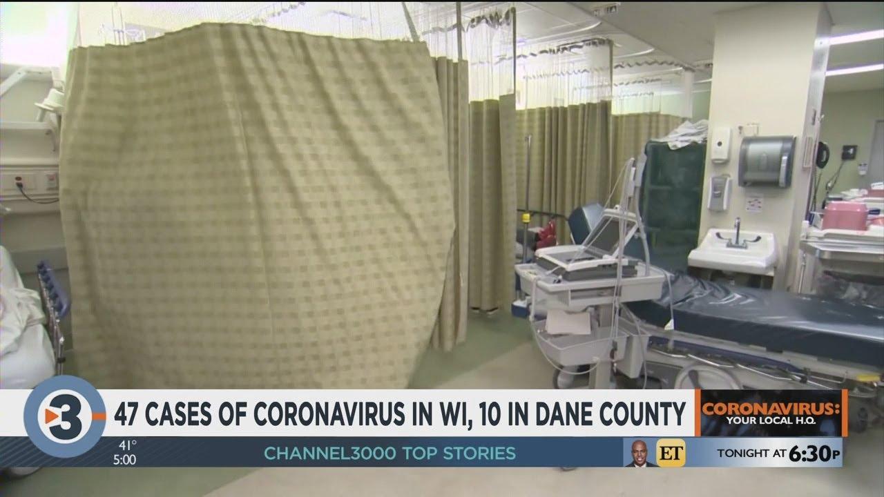 46 positive coronavirus cases in Wisconsin, 10 positive cases in ...