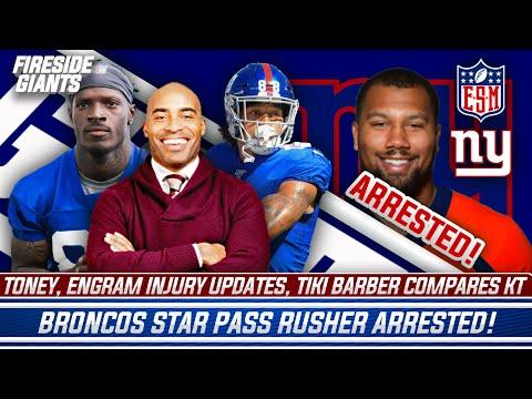 New York Giants Injury Update | Tiki Barber Makes Toney Comparison | Kadarius Toney Playing Week 1